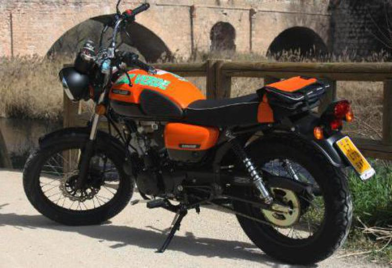 *Hanway Raw50cc / cambio manual